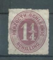 Schleswig Holstein Michel Nr. 18a * MH Ungebraucht, 160 Euro Michel Katalogwert. - Schleswig-Holstein