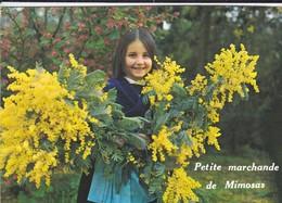 85---VENDEE---Petite Marchande De Mimosas--voir 2 Scans - Ile De Noirmoutier