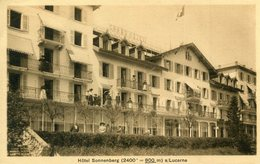 SUISSE(LUCERNE) HOTEL SONNENBERG - LU Luzern
