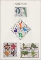 USA 1978, Zusammendrucke, Lot Gestempelt - Etats-Unis