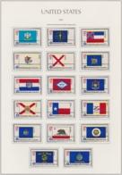 """USA 1976, """"200 Jahre Unabhängigkeit"""", Flaggen Der 50 Staaten, Serie Komplett Gestempelt - Etats-Unis"""