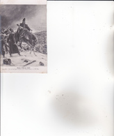 CPA SALON D'HIVER 1909. Le 14° De Ligne à EYLAU ,par Lionel Royer. - 1900-1949