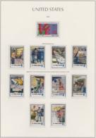 """USA 1973, """"US Postdienst"""", Serie Gestempelt + 10er-Streifen + Paar - Etats-Unis"""