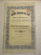 Société Anonyme De Loth - Leeuw Saint Pierre - Textiel