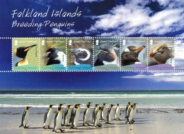 GEORGIE SUD 2008 / Bloc Polaire MNH De 6 Valeurs Dentelées Cote + De 18.00 Vente Départ 3.99 Euros - Polarmarken