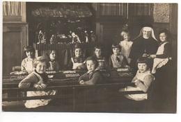 ST. GALLEN Klosterschule Nonne Mit Kindern Photograph M. Rottmann St. Gallen Langgass - SG St. Gall