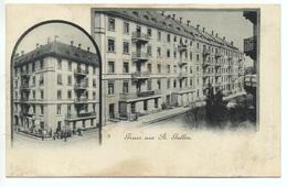 LITHO Gruss Aus ST. GALLEN Colonialwaren Geschäft Oscar Osterwalder - SG St. Gall