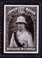 Congo 0184** Roi Albert - Belgisch-Kongo