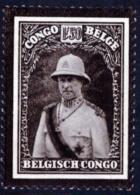 Congo 0184** Roi Albert - Congo Belge