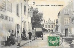 LUZANCY: RUE DE LA MAIRIE - Autres Communes