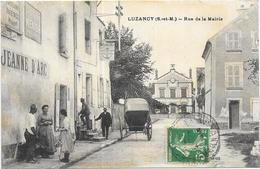 LUZANCY: RUE DE LA MAIRIE - France