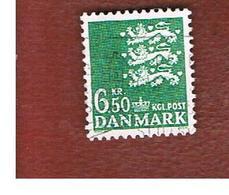 DANIMARCA (DENMARK)  -  SG  348c  -  1986  ARMS  6,50  - USED ° - Usati