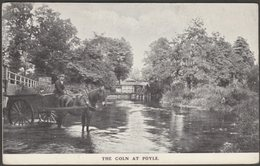The Coln At Poyle, Buckinghamshire, 1908 - F W Jackson Postcard - Buckinghamshire