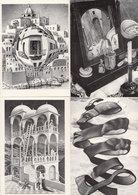 MS Escher Symmetry Buildings Face From A Ribbon 4x Postcard S - Arts