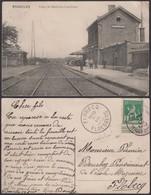 """Belgique - CP- Basècles """" Gare De Basècles-Carrières """" (DD) DC1276 - Beloeil"""