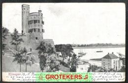 NIJMEGEN Belvédère En Zicht Op De Waal 1905 - Nijmegen