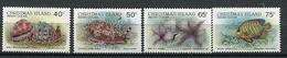 Ile Christmas ** N° 240 à 243  - Faune Marine - Christmas Island