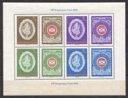 Ungarn; 1960; Michel 1698/701 Block 31 **; FIP Kongresszus Varso - Ungarn