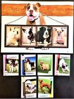 # Dominica 2008**Mi.3897-3906  Dogs , MNH  [17;4] - Honden