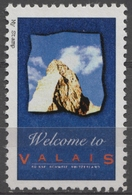 MATTERHORN - Mount Mountain ALPS Switzerland VLAIS - LABEL CINDERELLA VIGNETTE 1990's Hungary MNH - Schweiz