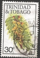 1983 30 Cents Flower, Cassia Moschatta, Used - Trinidad & Tobago (1962-...)