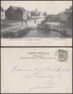 """Belgique - CP - Souvenir De  Strivay """" La Chapelle Et Le Château """" (DD) DC1280 - Neupre"""
