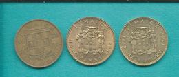 Jamaica - Elizabeth II - Half Penny X 3: 1959 (KM36) 1964 (KM38) 1969 - 100th Anniversary (KM41) - Jamaica