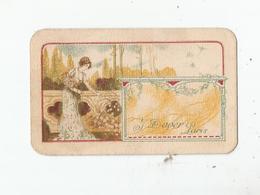 CARTE PARFUMEE ANCIENNE J DAVER PARIS (CARTE PARFUMEE A L'ESSENCE GOUTTE DE ROSEE) - Cartes Parfumées