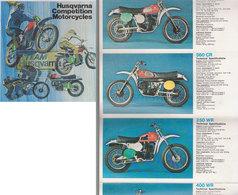 Publicité Motos Husqvarna   1975 - Publicités
