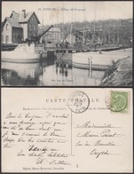 """Belgique - CP - Auvelais """" Ecluse De Grognaux """" (DD) DC1281 - Sambreville"""