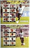 Ghana 2007** Mi.klb.3839/46 + 3847/54 (World Cup 2007) [17;14] - 2006 – Germany