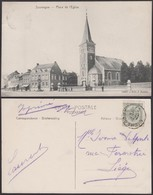 """Belgique - CP - Soumagne """" Place De L'Eglise """" (DD) DC1284 - Soumagne"""