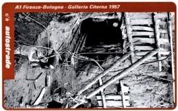*ITALIA: VIACARD - A1 FIRENZE - BOLOGNA, 1957 (L. 100000)* - Usata - Non Classificati