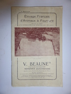 """Livre """"ELEVAGE FRANCAIS D'ANIMAUX A FOURRURE"""" - Autres"""
