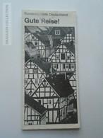ZA147.7  MAP  GERMANY  Bundesrepublik  DEUTSCHLAND  - Gute Reise - Road Map 1972 - Cartes Routières