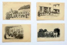 11 Cartes Postales De La COLONIE PÉNITENTIAIRE De METTRAY (37) En 1903 - 1904 - France