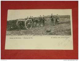 LEOPOLDSBURG - Camp De Beverloo  -  Champ De Tir -  1904    - - Leopoldsburg (Camp De Beverloo)