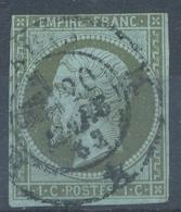 N°11 NUANCE ET OBLITERATION. - 1853-1860 Napoléon III