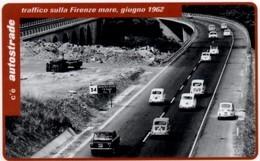 *ITALIA: VIACARD - TRAFFICO SULLA FIRENZE MARE, 1962 (L. 20000)* - Usata - Non Classificati