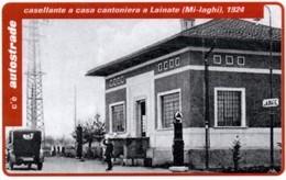 *ITALIA: VIACARD - MI-LAGHI - CASA CANTONIERA A LAINATE, 1924 (L. 20000)* - Usata - Non Classificati