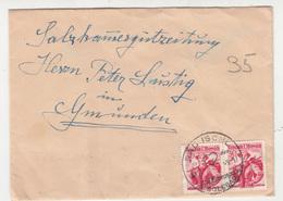 Austria, Letter Cover Travelled 1949 Bad Ischl B190101 - 1945-60 Briefe U. Dokumente