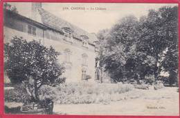 CPA 38 CHONAS L' Amballan Le Château C/ VIENNE N° 1374  ( L101 ' De M. De Nante - Otros Municipios
