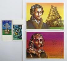 Ghana 1993** Mi.2063-64.+Bl.257,258. 45 Th Anniversary In Memorium Of Copernicus MNH [17;19] - Astrologie