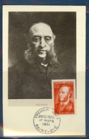 N° 880 JULES FERRY SUR CARTE MAXIMUM DE ST DIE DU 17/03/51 - Maximumkarten (MC)