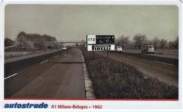 *ITALIA: VIACARD - A1 MILANO - BOLOGNA 1962 (L. 50000)* - Usata - Non Classificati