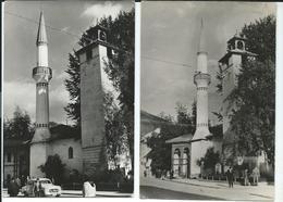 Bosnia And Herzegovina - Travnik - Hadzibegova Dzamija - Mosque - 2 Postcards - Bosnië En Herzegovina