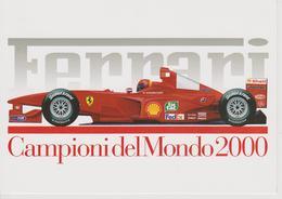 FERRARI F1-2000 CHAMPION DU MONDE 2000 M.SCHUMACHER - Grand Prix / F1
