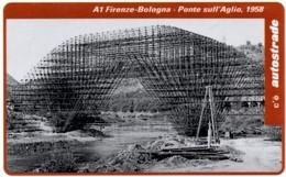 *ITALIA: VIACARD - A1 FIRENZE - BOLOGNA, 1958 (L. 50000)* - Usata - Non Classificati