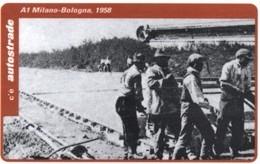 *ITALIA: VIACARD - A1 MILANO - BOLOGNA, 1958 (L. 20000)* - Usata - Non Classificati