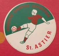 Autocollant Saint Astier. Jeunesse Sportive Asterienne. Football . Vers 1960-70. - Stickers